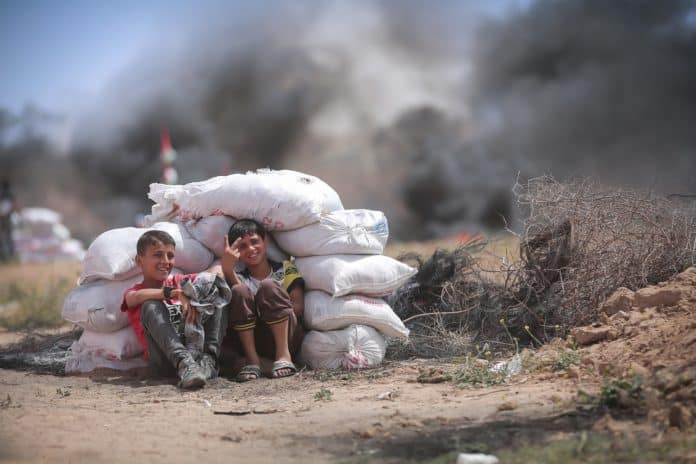 Pixabay Palestine Gaza enfants palestiniens