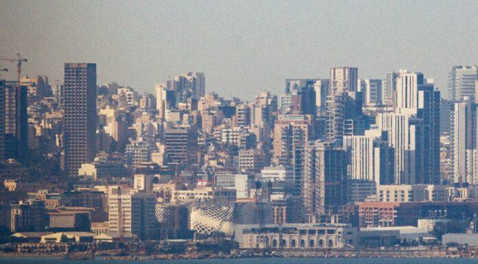 Une vue du centre ville de Beyrouth. Crédit Photo: François el Bacha. Tous droits réservés.