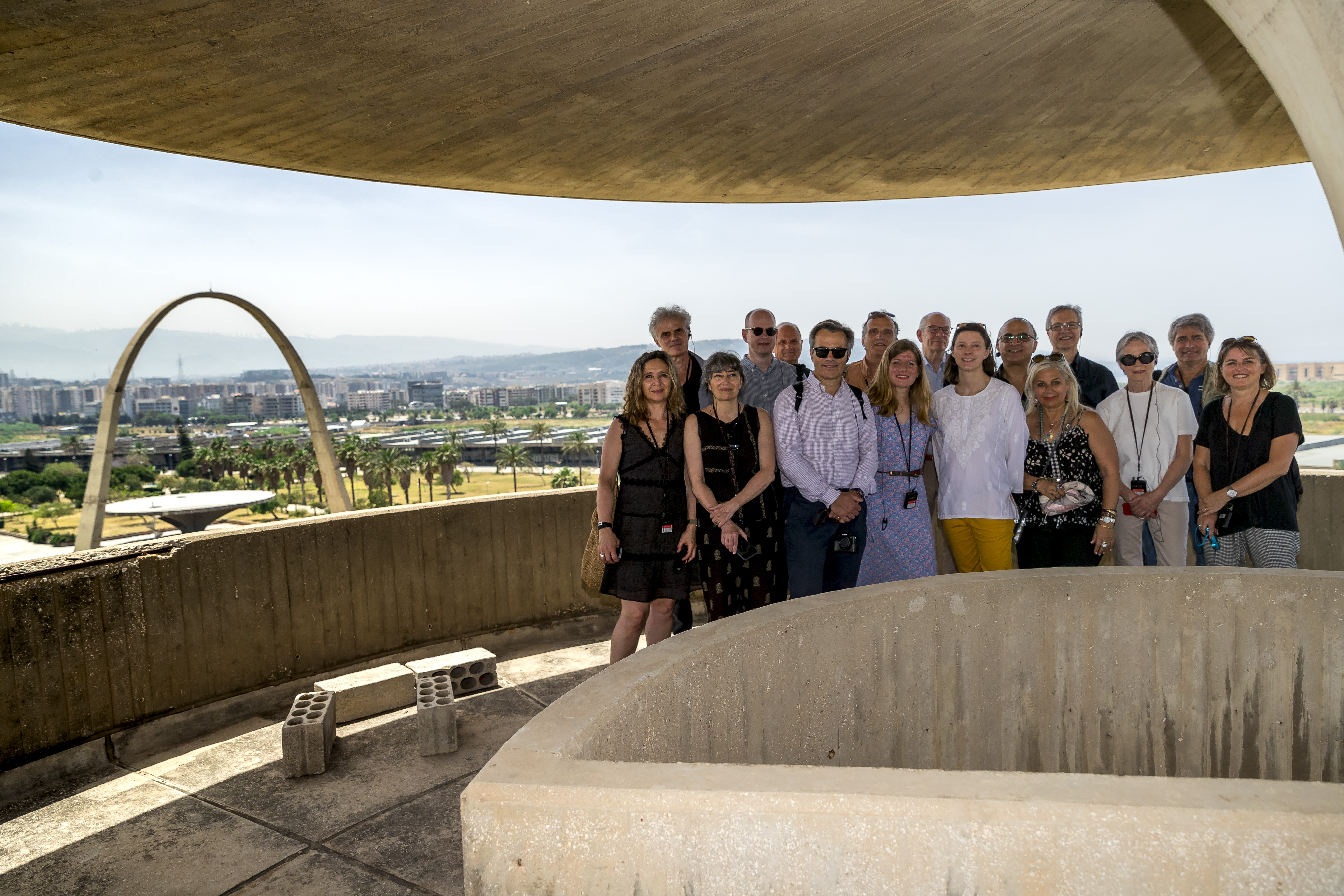 Tripoli Oscar Niemeyer Groupe d'architectes francais au Nord Liban