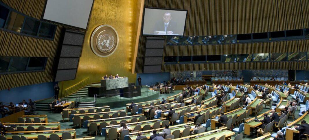 L'Assemblée Générale de l'ONU. Source ONU