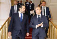 Le Président de la République Française en compagnie du Premier Ministre Libanais, le 20 septembre 2019. Crédit Photo: Dalati & Nohra