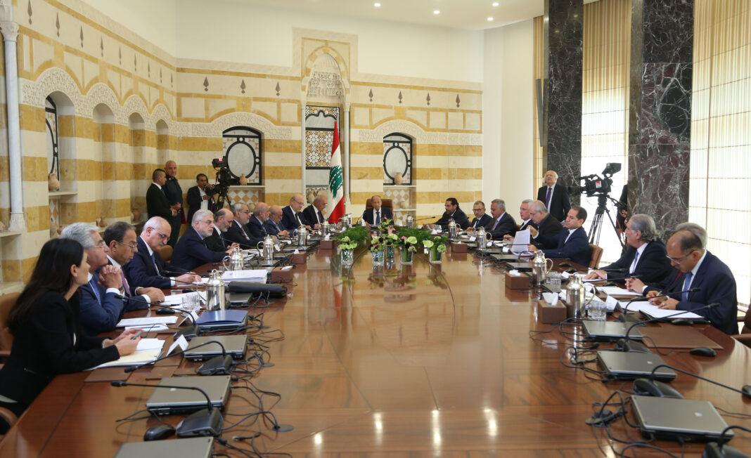 Le sommet économique de Baabda, 2 septembre 2019. Crédit Photo: Dalati & Nohra