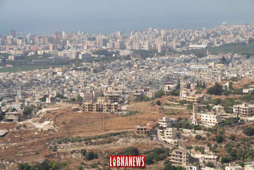 General view of the city of Saida. Photo credit: Francois el Bacha for Libnanews.com