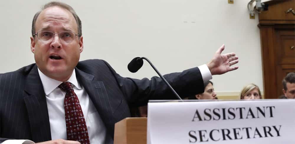 Le Sous Secrétaire d'état américain en charge de la lutte anti-terroriste Marshall Billingslea