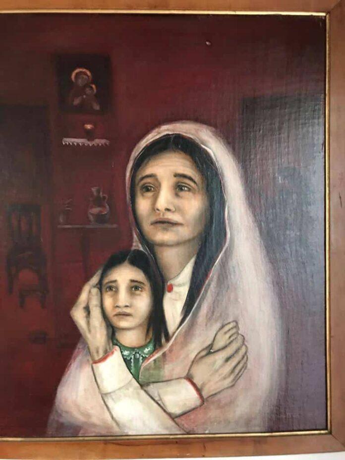 Massacre de Bmariam. Lina Murr Nehmé, 1984.