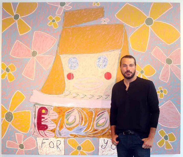 L'artiste Adam Handler (photo credit Karine Jabaji)