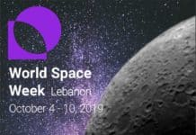 Poster World Space Week Lebanon
