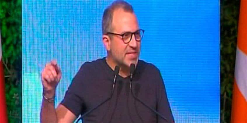 Gébran Bassil. Source Photo: Tayyar.org