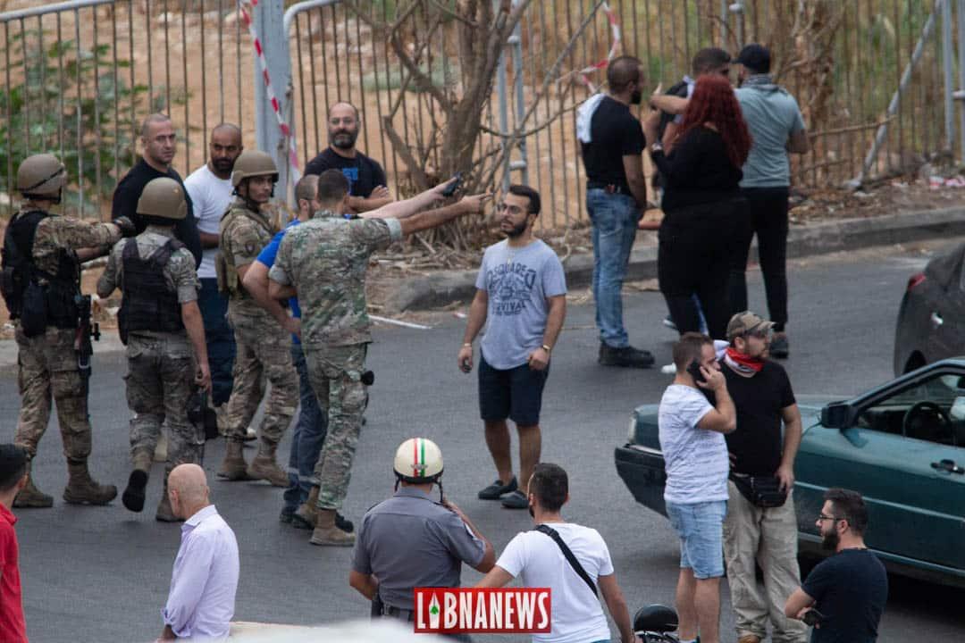 Barrage au niveau de Nahr Kalb. Crédit Photo: Libnanews.com. Tous droits réservés.