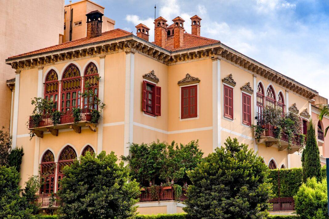 Une maison Beyrouthine au Centre Ville. Source Photo: Pixabay.com