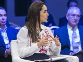 Mary Nazzal-Batayneh, avocate et entrepreneure sociale libanaise, invitée du Forum économique mondial sur la région MENA organisé en Jordanie en avril 2019. World Economic Forum / Flickr, CC BY-SA
