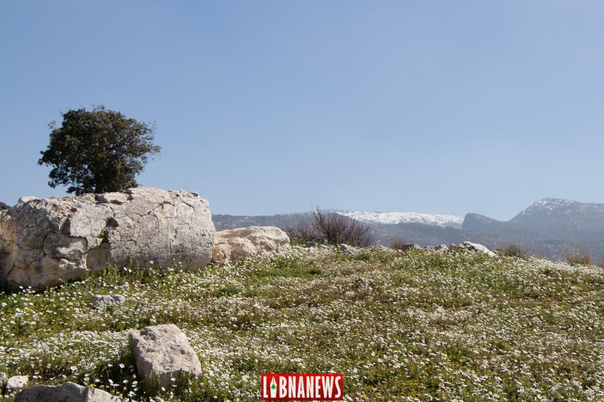Le temple ouest d'Ein Akrine. Crédit Photo: François Bacha pour Libnanews.com