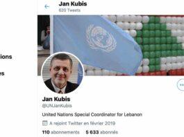 Le compte Twitter de Jan Kubis