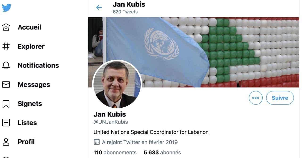 Jan Kubis Twitter