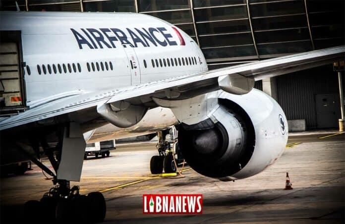 Un avion d'Air France à CDG. Crédit Photo: François el Bacha pour Libnanews.com. Tous droits réservés.