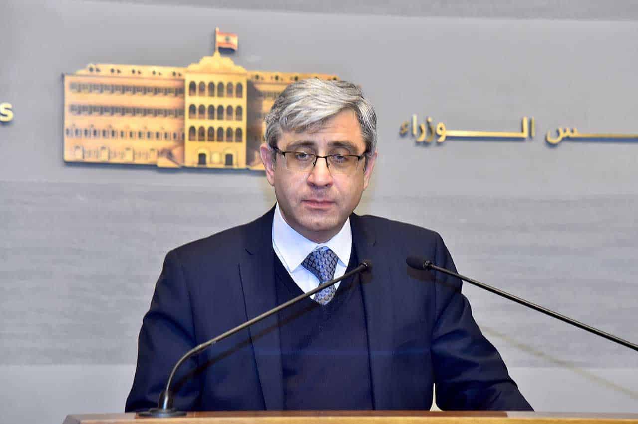 Le ministre de l'éducation. Crédit Photo: Dalati & Nohra