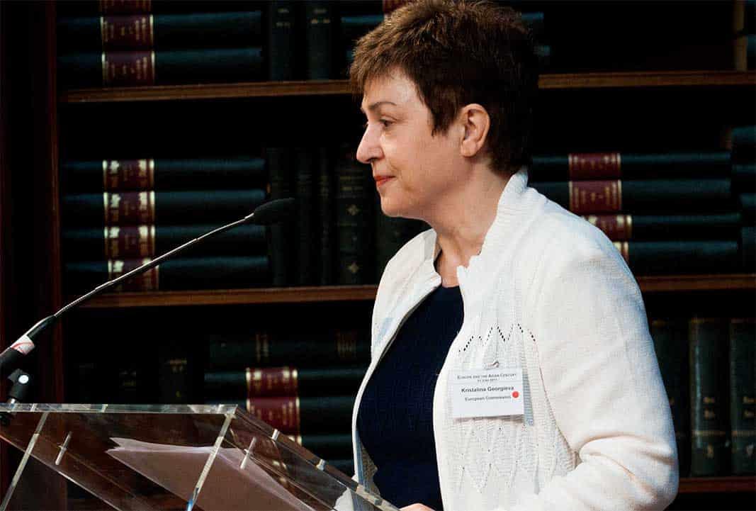 La directrice générale du FMI Kristalina Georgieva