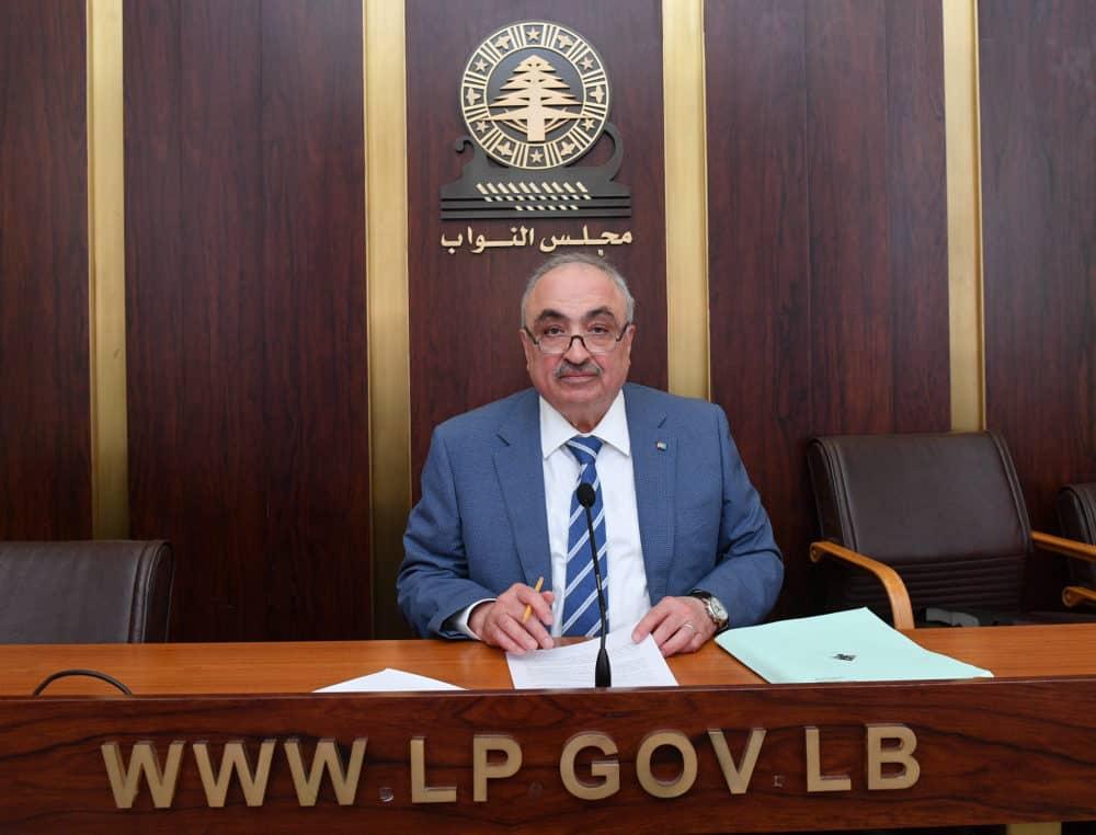 Le député Mohammed Hajjar. Crédit Photo: Parlement Libanais