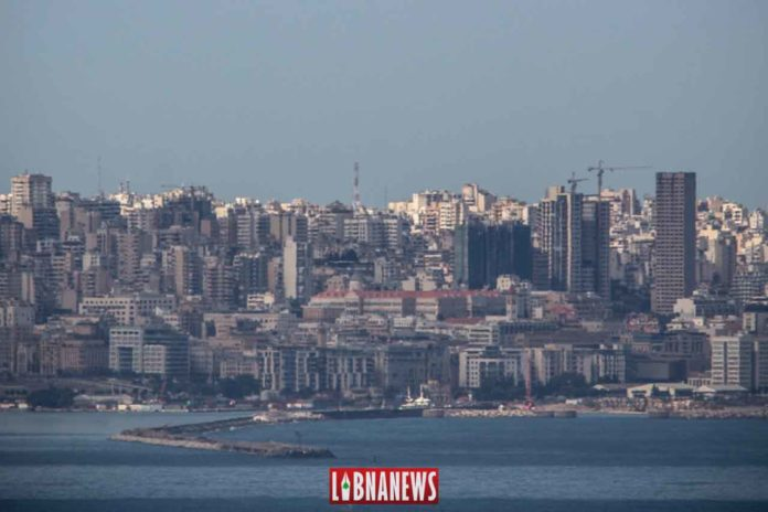 Le siège du Grand Sérail avant l'explosion du Port de Beyrouth.