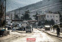 Le point de passage de Masnaa à la frontière entre le Liban et Israël. Crédit Photo: Libnanews.com