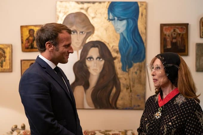 Twitter Emmanuel Macron Feyrouz 1