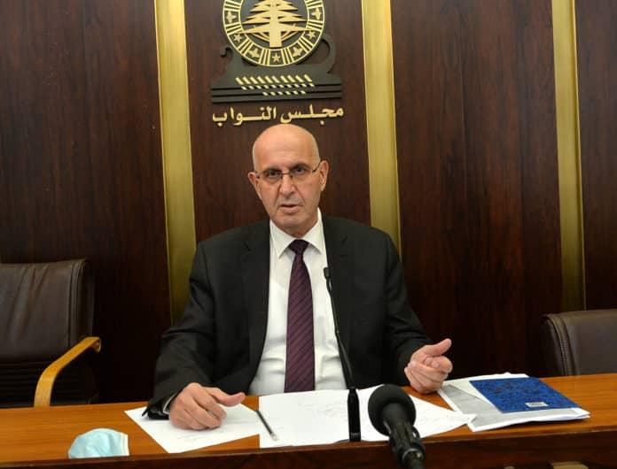 Le député Assem Araji. Crédit Photo: Parlement Libanais