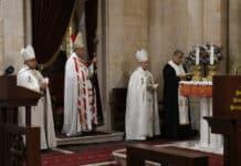 Le patriarche Béchara Boutros Rahi à l'occasion du sermon dominical du 25 octobre 2020. Crédit Photo NNA
