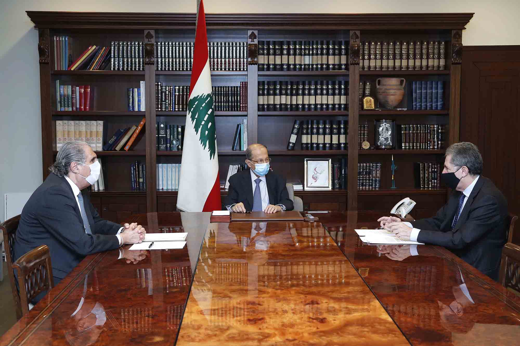 Dalati Michel Aoun Fin Alvarez 5 Minister Of Finance Dr. Ghazi Wazni 1 Copy