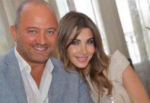 Nancy Ajram et son époux Fady Hachem
