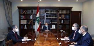 Dalati Aoun 02 Minister Ghazi Wazni
