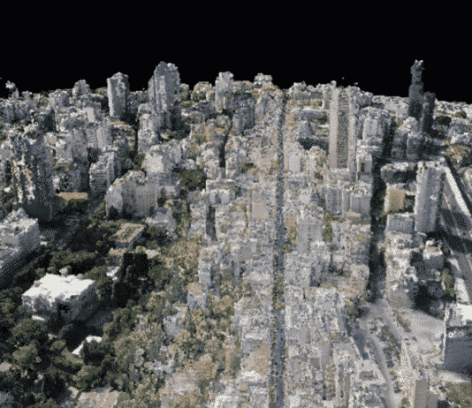 La numérisation de Beyrouth par l'UNESCO